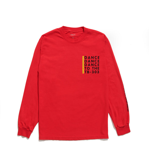 Acid House - Long Sleeve - Red