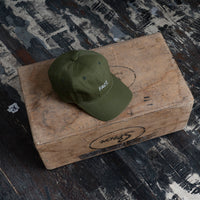 Logotype 6 Panel Hat - Olive