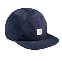 Box Logo 6 panel hat - Navy