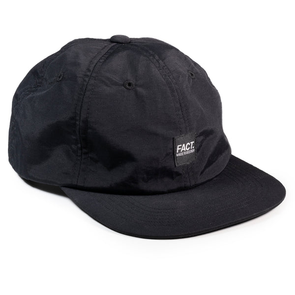 Box Logo 6 panel hat - Black