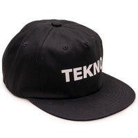 Tekno 6 Panel Hat - Black