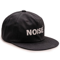 Noise 6 panel hat - Black
