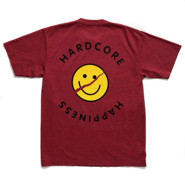 Acid House - Short Sleeve - Burgundy