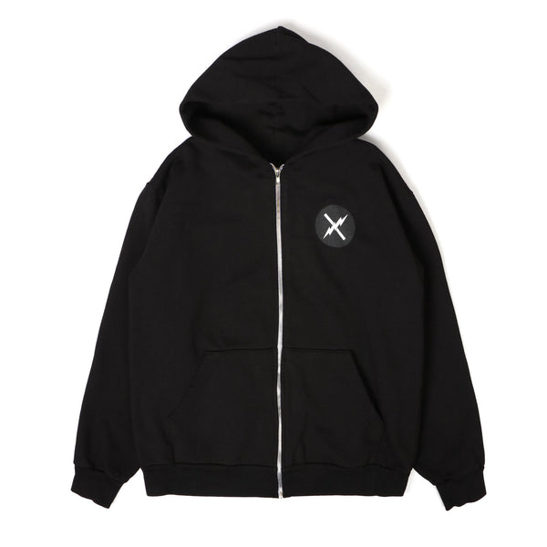 Weapon - Zip Hoodie - Black