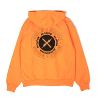 Weapon - Zip Hoodie - Orange