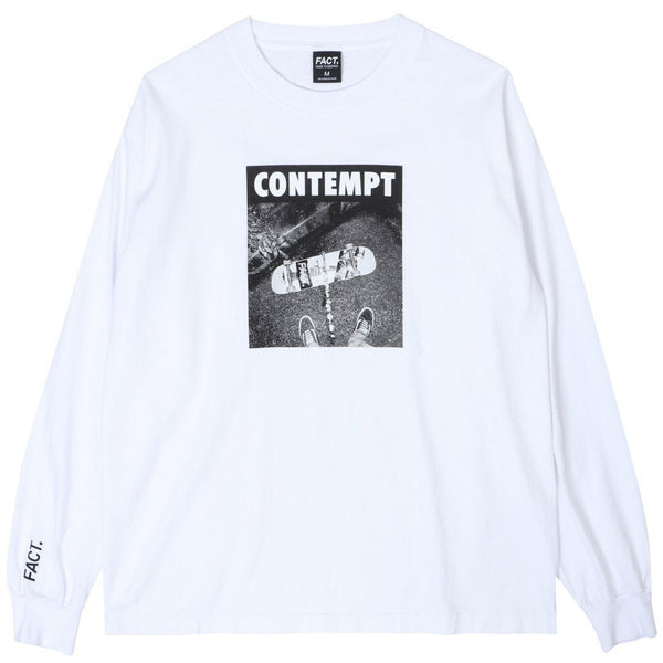Contempt - Long Sleeve - White