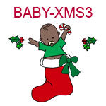 Christmas Baby 3 - African American