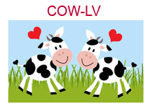 COW-LV Two cows with hearts