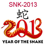 SNK-2013 Zodiac year of the snake 2013