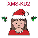 Christmas kid 2 - fair skin brown hair girl