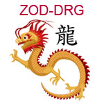 ZOD-DRG Chinese zodiac dragon design