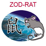 ZOD-RAT Chinese zodiac rat design
