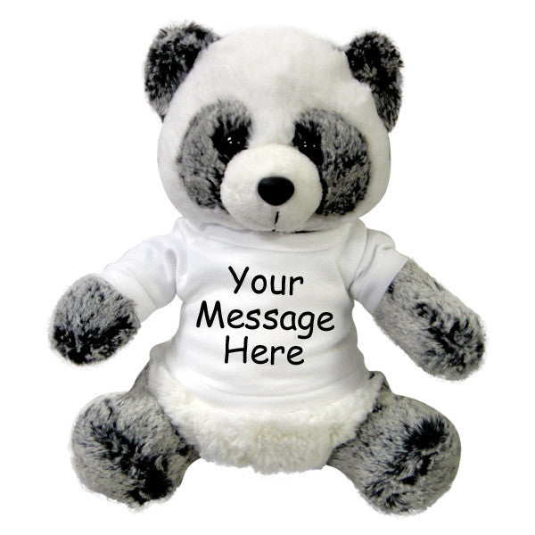 Personalized Stuffed Panda Aurora Plush Ping Panda Say It With A