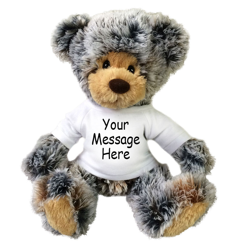 Personalized Teddy Bear - Aurora Plush Brindle Bear