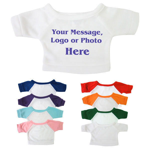 Teddy Bear T Shirt Personalized With Your Text Photo Or Graphic