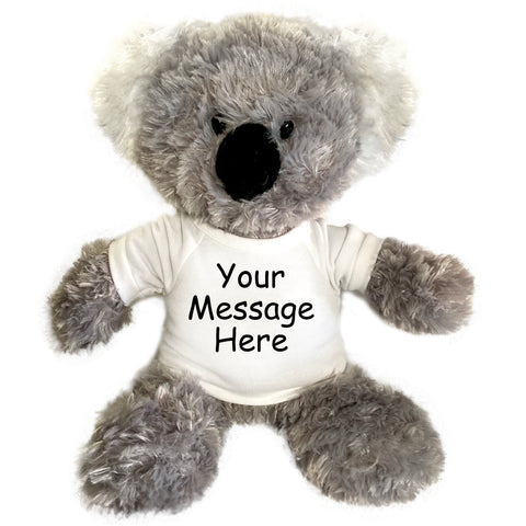 Personalized Stuffed Koala - 12 inch Aurora Plush
