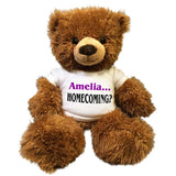 Personalized Homecoming Teddy Bear