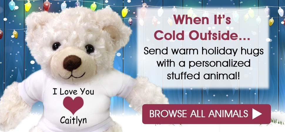 Personalized Ring Bearer and Flower Girl Teddy Bears and Stuffed Animals