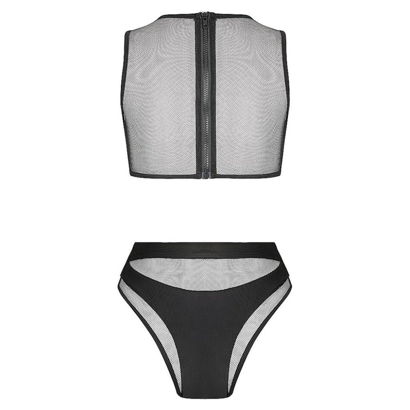 Hamilton Island Bikini in Liquid Black Reversible