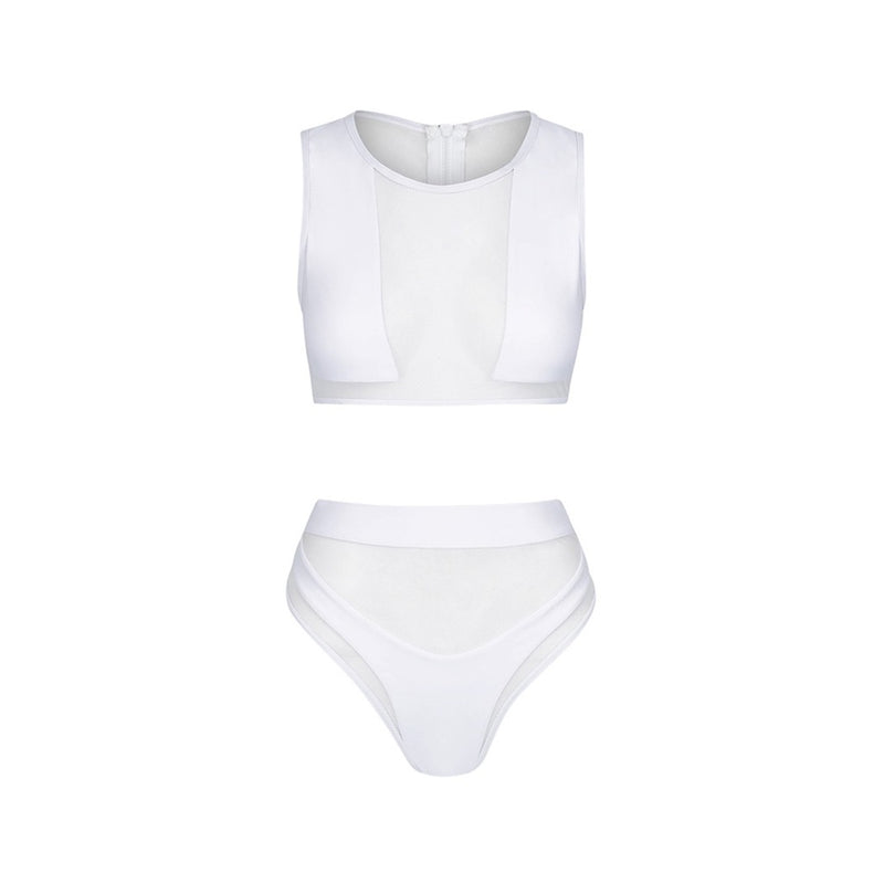 Whitehaven High Waisted Bikini - Bikini Beach Australia