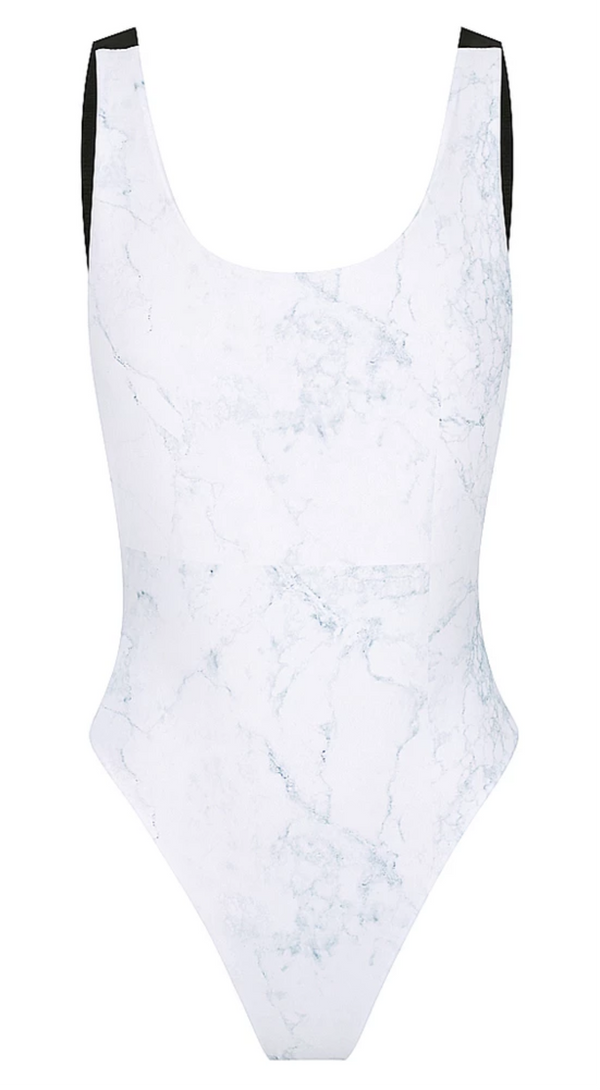 Sorrento One Piece in Marble Reversible