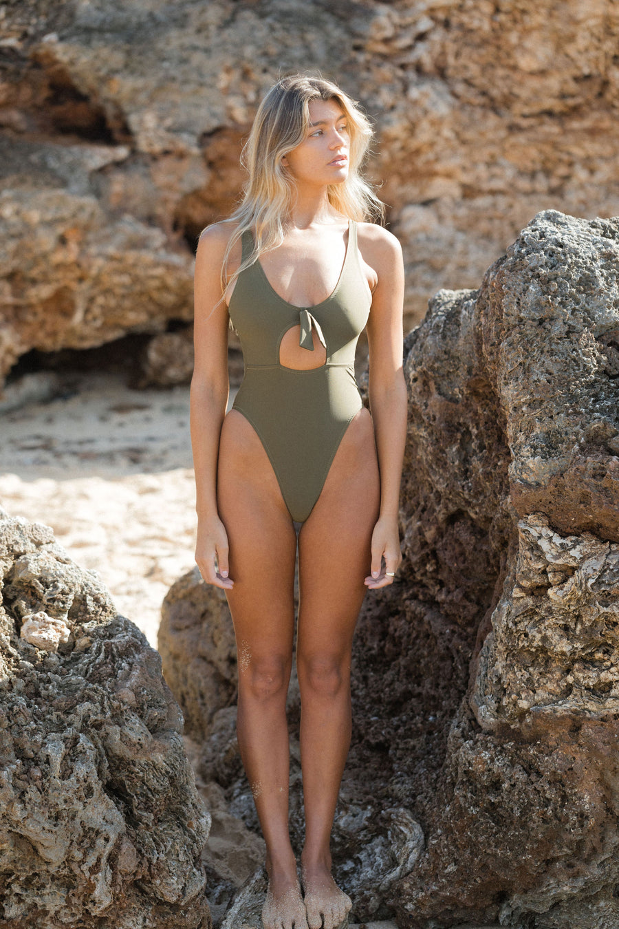 Brooke One Piece - Hana green