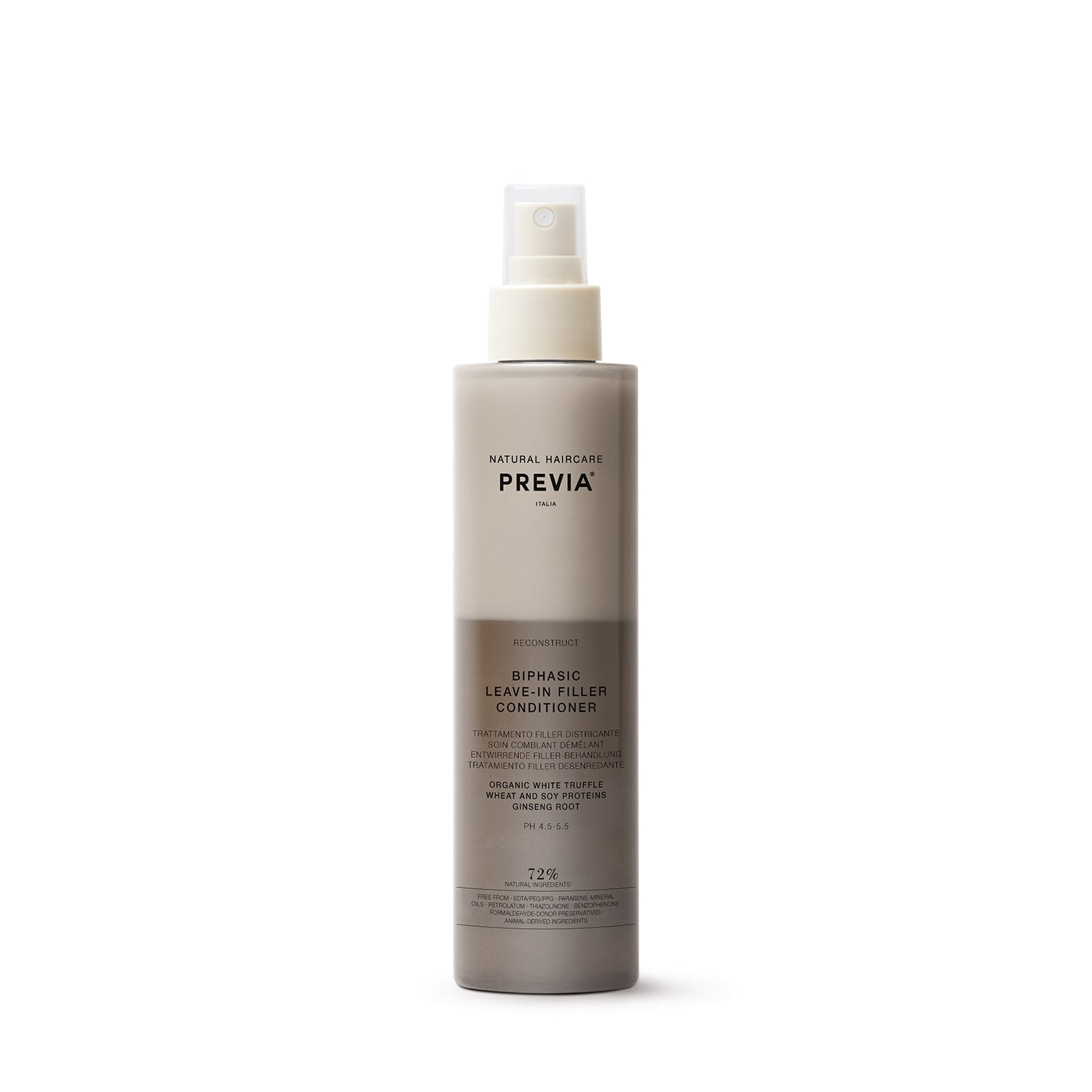 Previa Biphasic Leave-In Filler Conditioner 218ml