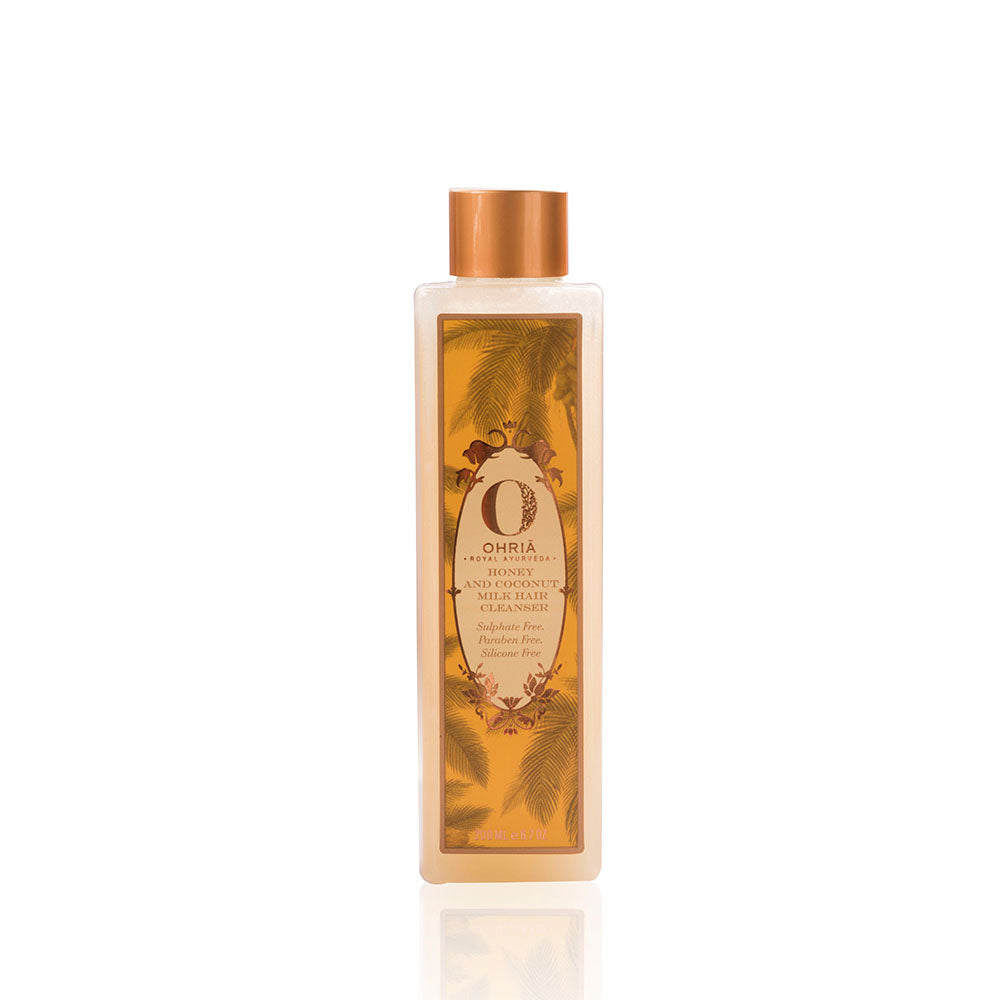 Ohria Ayurveda Honey & Coconut Milk Hair Cleanser 200ml