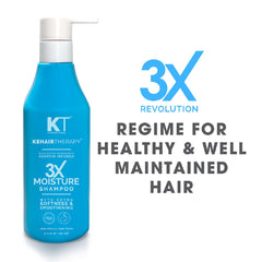 Kehairtherapy KT Professional Sulfate Free 3X Moisture Shampoo - 250 ml