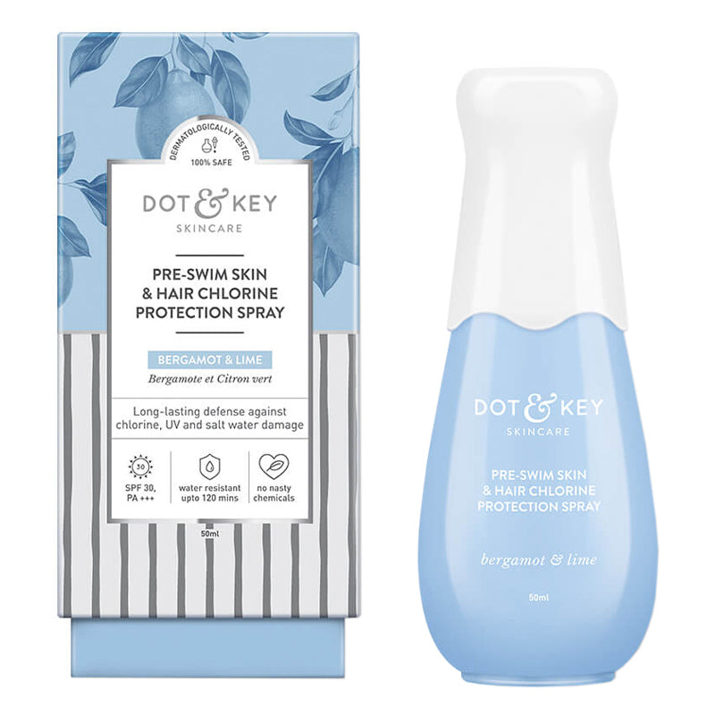 Dot & Key Pre Swim Skin & Hair Chlorine Protection Spray 50ml