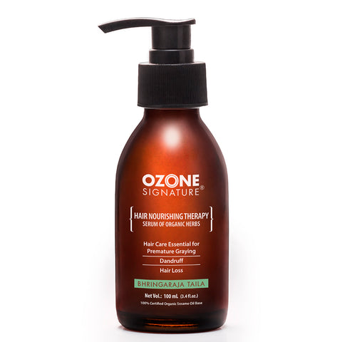 Ozone Signature Bhringaraja Taila Hair Oil 100ml