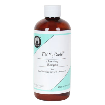 Fix My Curls Squeaky Cleansing Shampoo For Curly and Wavy Hair 250ml