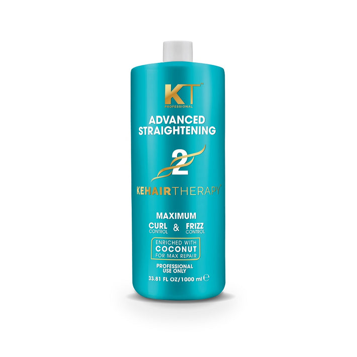 Kehairtherapy Advanced Straightening Treatment 1000ml ( For Chemically Treated Unruly Hair)
