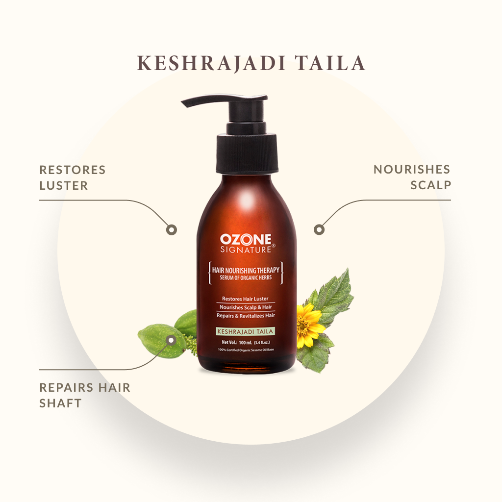Ozone Signature Keshrajadi Taila Hair Oil 100ml
