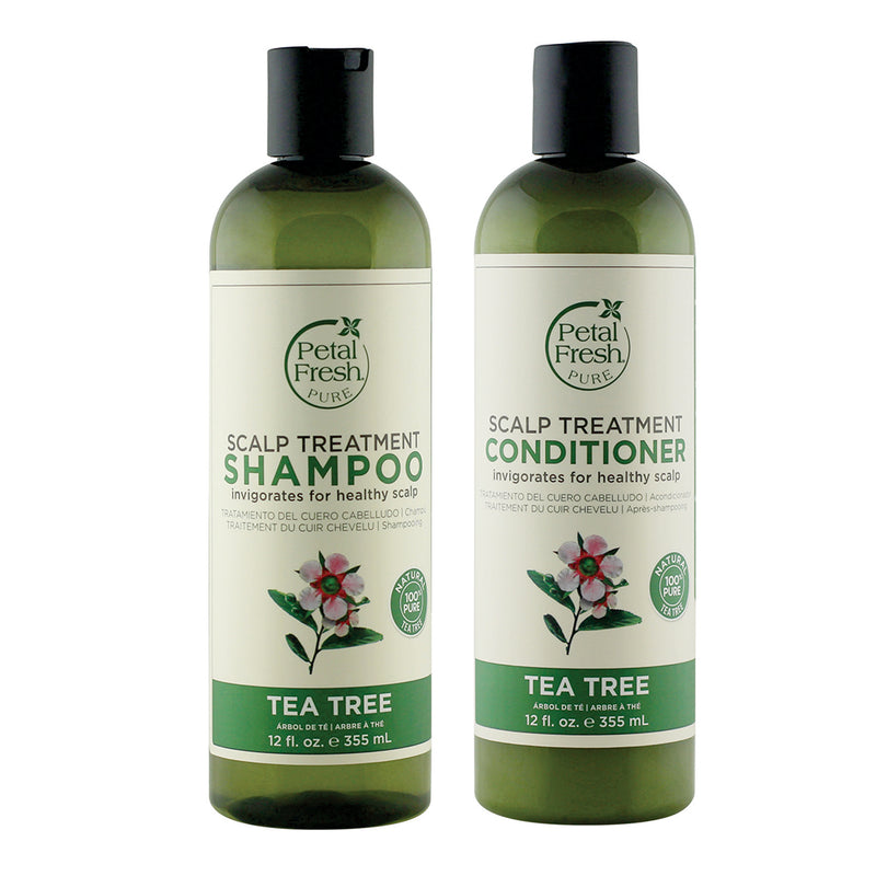 Petal Fresh Scalp Treatment Tea Tree Shampoo + Conditioner 355 ML