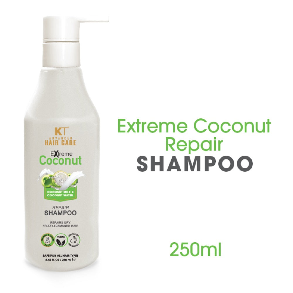 Kehairtherapy Advance Extreme Coconut Repair Shampoo and Conditioner, 250 ml (Pack Of 2)