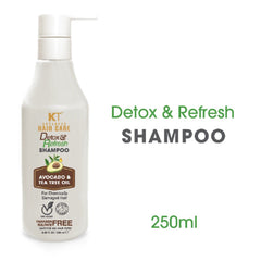 Kehairtherapy KT Professional Hair Care Detox and Refresh Shampoo For Chemically Damaged Hair 250 ml