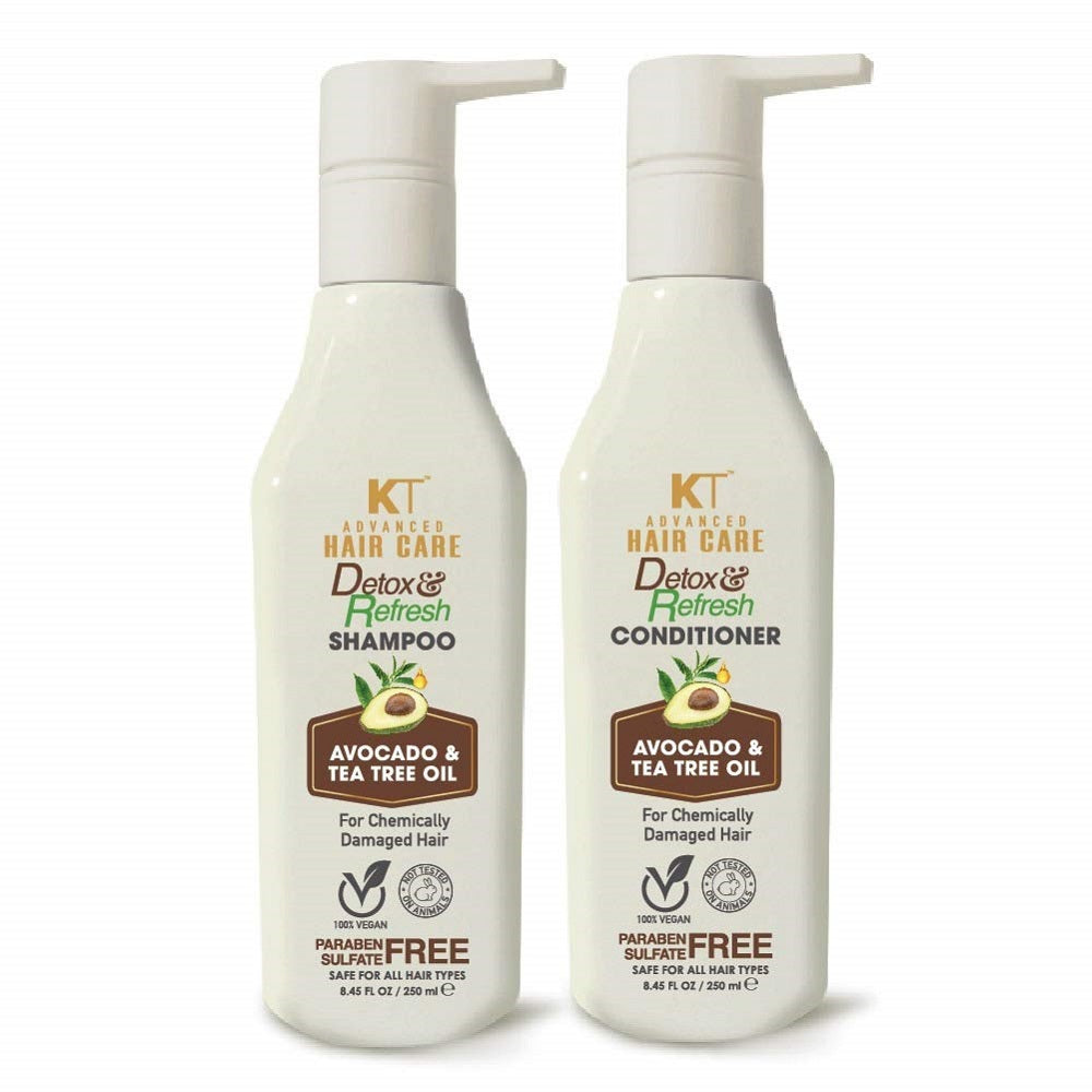 Kehairtherapy Advance Hair Care Detox and Refresh Shampoo and Conditioner, 250 ml ( Pack Of 2 )