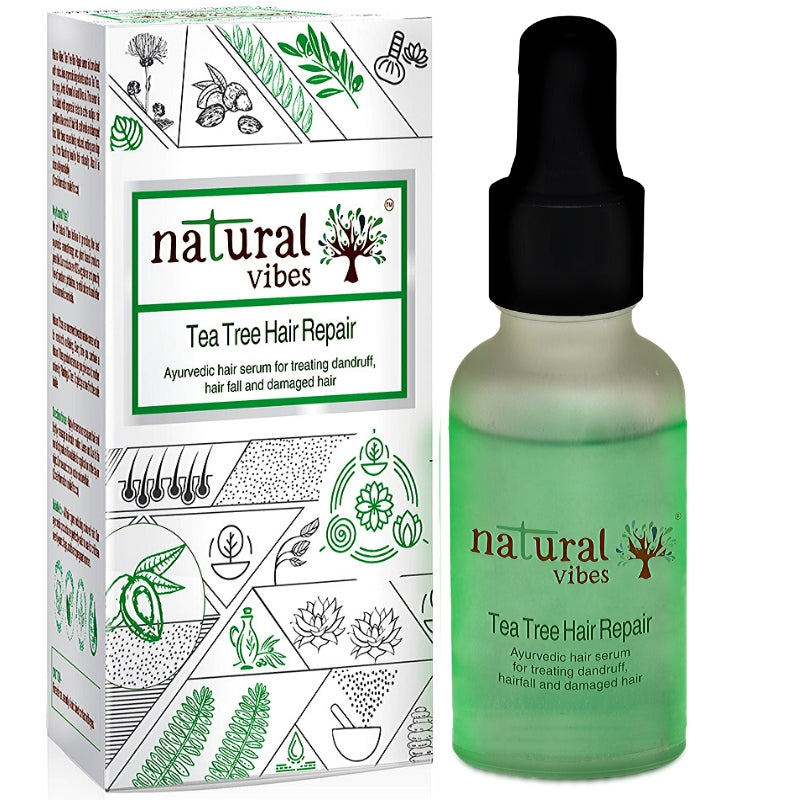 Natural Vibes Ayurvedic Tea Tree Hair Repair Serum 30 ml