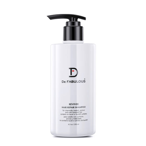 De Fabulous Reviver Hair Repair Shampoo - Sulfate Free 250ml