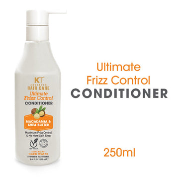 Kehairtherapy KT Professional Advanced Hair Care Ultimate Frizz Control Conditioner | Sulfate & Paraben Free 250 ml