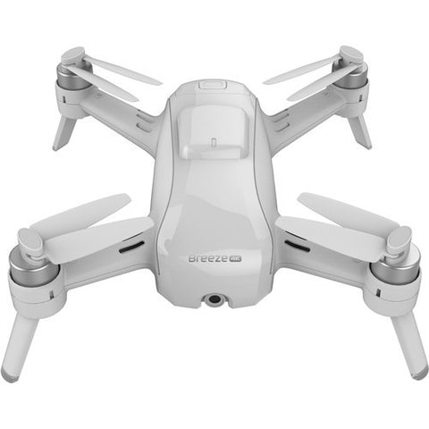 Yuneec Breeze Selfie Quadcopter Drone w/ Charger and 2 Batteries