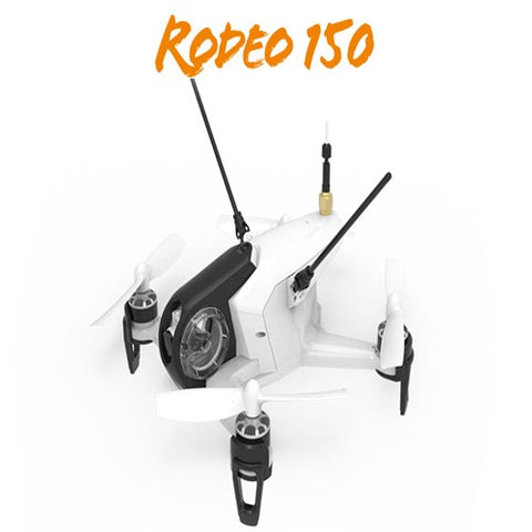 Walkera Rodeo 150 Mini FPV Racer Drone; Ready to fly with DEVO7 / VTX / Camera / Battery / Charger