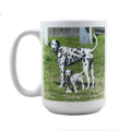 Personalized Coffee Mug with Your Custom Photo, Logo, or Design | 15 oz, White, Ceramic