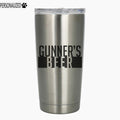 Gunner Personalized Etched Stainless Steel Insulated Tumbler 20oz