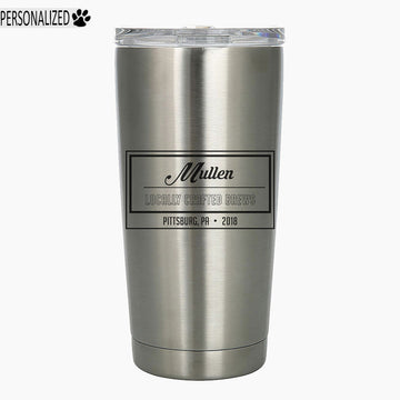 Mullen Personalized Etched Stainless Steel Insulated Tumbler 20oz