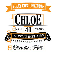 Chloe Personalized Etched Stemless Glass 17oz