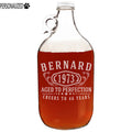 Bernard Personalized Etched Clear Growler 64oz