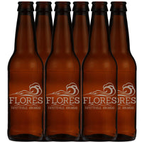 6pk Personalized 12oz Beer Bottles
