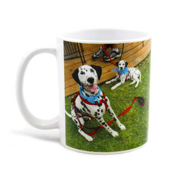 Personalized Coffee Mug with Your Custom Photo, Logo, or Design | 11 oz, White, Ceramic